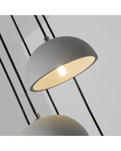 Lampadario Betoni XL Cemento grigio