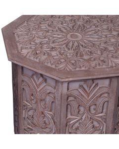 set di 2 tavolini d'appoggio Babou marrone